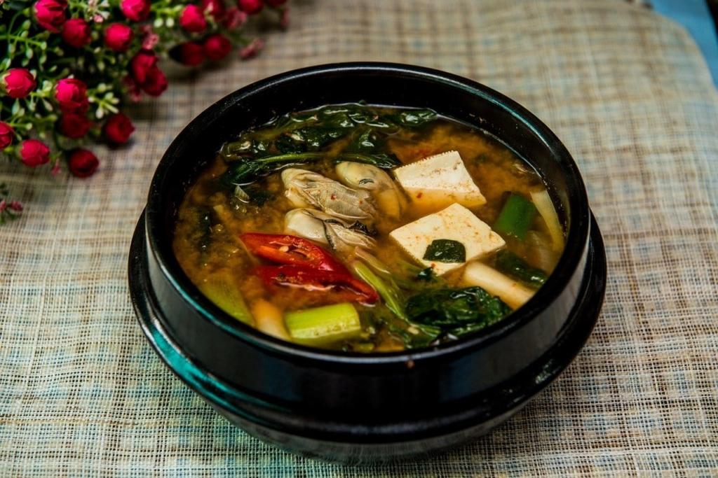 soupe miso riche en probiotique